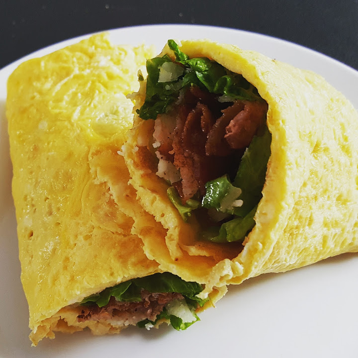 Brekky Egg Roll